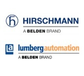 Hirschmann and Lumberg Automation logos