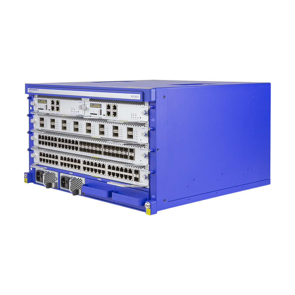 MTS8000 Managed Switch Side View