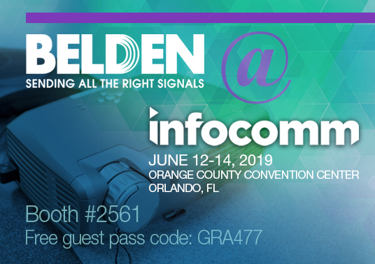 InfoComm 2019 knowledge center 268x189
