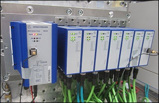 Hirschmann's new MSP30-X industrial Ethernet switch