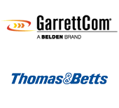 GarrettCom and Thomas & Betts logos