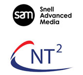 Snell Advanced Media and Net-Tech Technology (NT2) logos