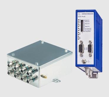 Fiber Interface Repeaters for standardized fieldbus protocols