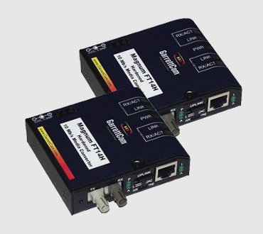 Magnum FT14 and FT14H 10Mb Fiber Media Converter