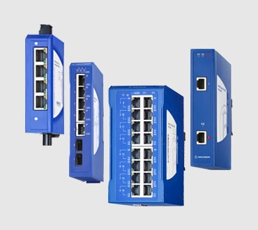 SPIDER Unmanaged Fast/Gigabit Ethernet Switches