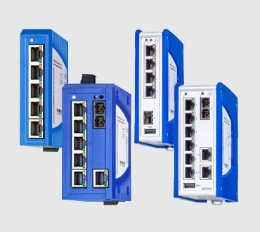 SPIDER III Unmanaged DIN Rail Fast/Gigabit Ethernet Switches