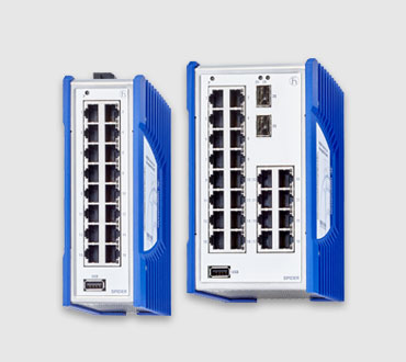 SPIDER III Unmanaged High-Port Switches