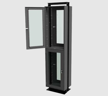 Open Rack Security Door