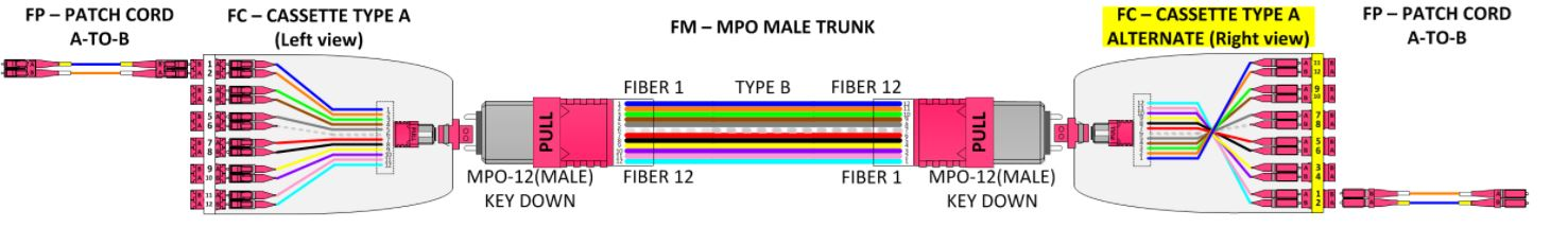 How-To Rules of Fiber Polarity Example 1