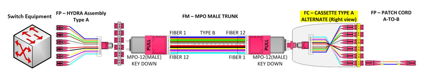 How-To Rules of Fiber Polarity Example 2