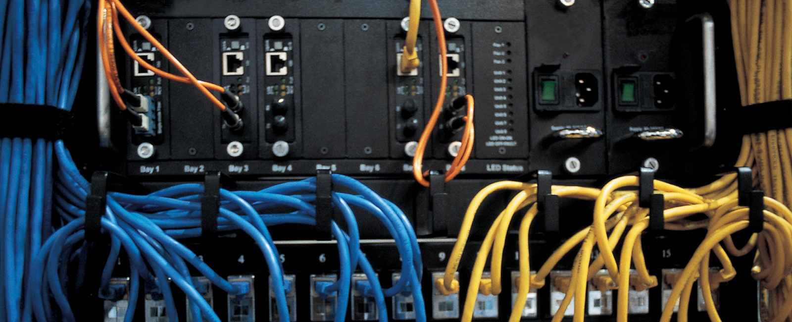 The Fast Way To Commission Industrial Ethernet Switches Patch Panel Wiring Switch