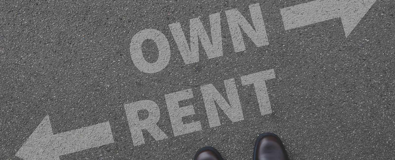 different paths for rent or own