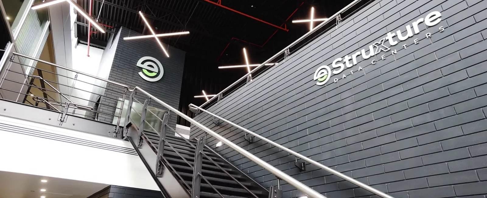 eStruxture building staircase