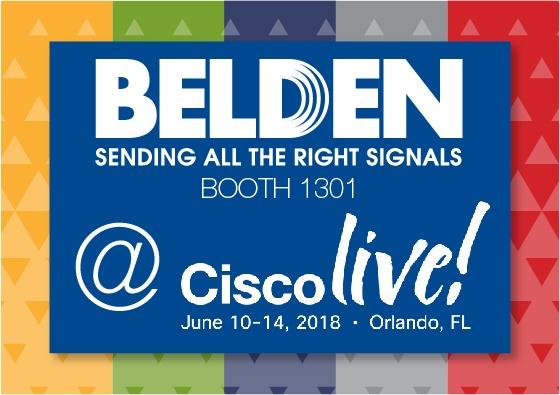 Belden @ CiscoLive!