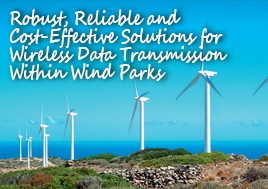 Wireless Data Transmission Within Wind Parks Application Note