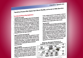 Garrettcom Offers Holyoke Gas Electric Flexibility And Security Application Note