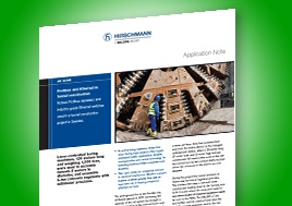 Profibus And Ethernet In Tunnel Construction Application Note