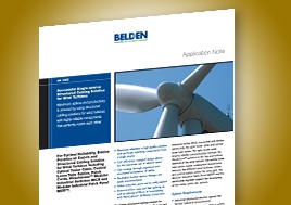 Single Source Structured Cabling For Wind Turbines Application Note