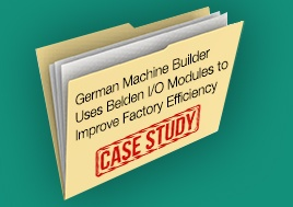 German Machine Builder Uses Belden Io Modules Case Study