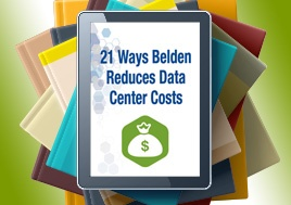 21 Ways Belden Reduces Data Center Costs eBook