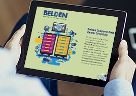 Belden Supports Data Center Simplicity eBook