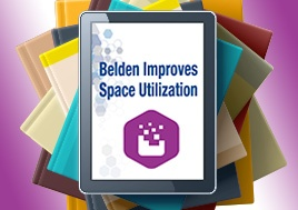 Belden Improves Space Utilization eBook
