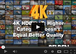 4K HDBaseT: Higher Category Doesn't Equal Higher Quality