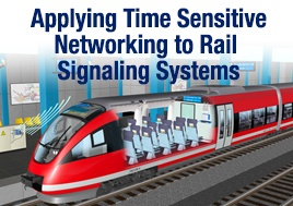 Applying Time Sensitive Networking to Rail Signaling Systems