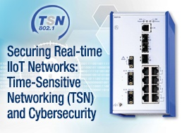 Securing the Real-time IIoT Networks: TSN and Cybersecurity