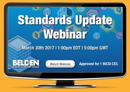 Cabling Standard Updates: How It Will Impact You Webinar