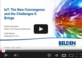 IoT: The New Convergence and the Challenges It Brings Webinar