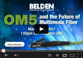 OM5 and the Future of Multimode Fiber in Data Centers Webinar
