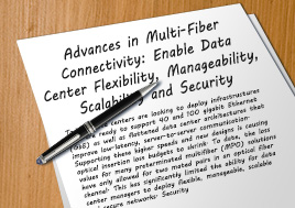 Advances In Multi Fiber Connectivity Whitepaper