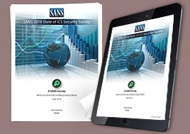 Report: Securing Industrial Control Systems – 2017 SANS Survey