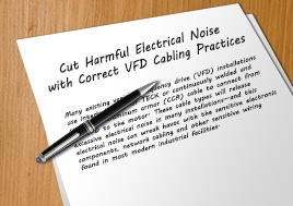 Cut Harmful Electrical Noise With Correct Vfd Cable Practices Whitepaper