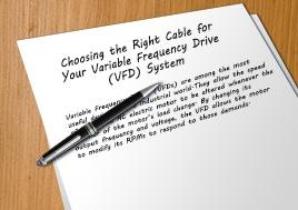 Choosing Right Cable For Vfd System Whitepaper