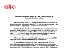 dupont-statement-on-pfoa-and-the-use-of-fluoropolymers-in-the-communications-cable-industry