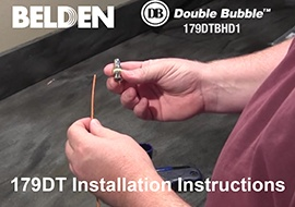 1-pc. HD-BNC Installation Video for 179DT