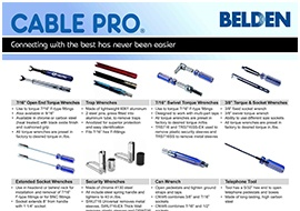 Cable Pro® Installation Tools