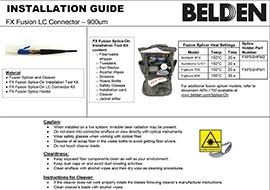 Fusion Splice-On Install Guide