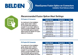 fiber-express-fusion-splice-on-connectors-installation-guides