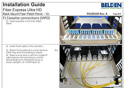 FX UHD Shelves Installation Guide