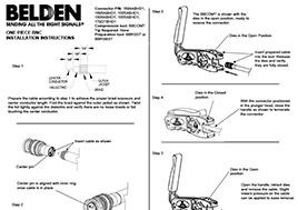 1-pc. HD-BNC Installation Instructions