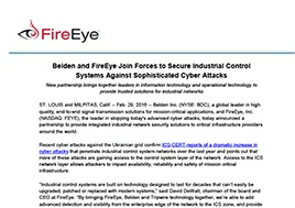 Belden And Fireeye Join Forces