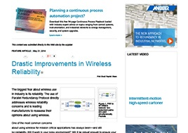 Drastic Improvements in Wireless Reliability