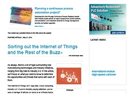 Sorting out the Internet of Things and the Rest of the Buzz