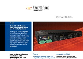 10Rx Configurable Router And Security Appliance Product Bulletin