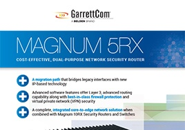 5Rx Network Security Router Flyer