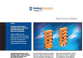 Actuator Sensor Interface (As I) Modules New Product Bulletin