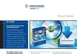 Annual Software Maintenance Plan from Hirschmann